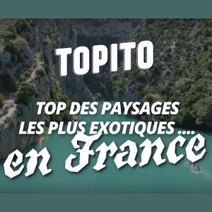 France : paysages exotiques