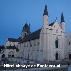 Hôtel - Abbaye de Fontevraud