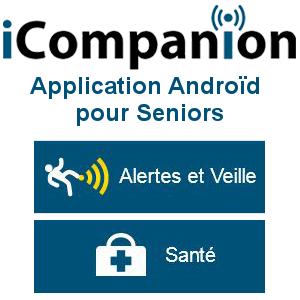 iCompanion, une application androïd pour Seniors