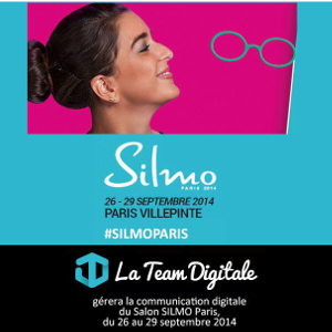 La Team Digitale et le Mondial de l'Optique, SILMO 2014